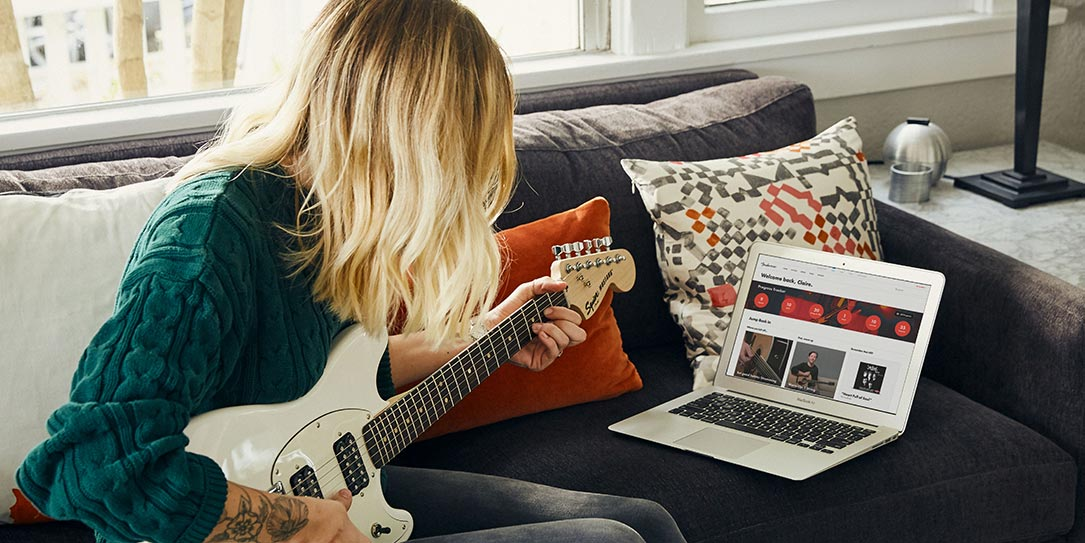 Learn To Play Guitar Online With New Fender Play On Demand