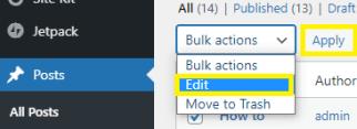 "Click on ""edit & apply"""