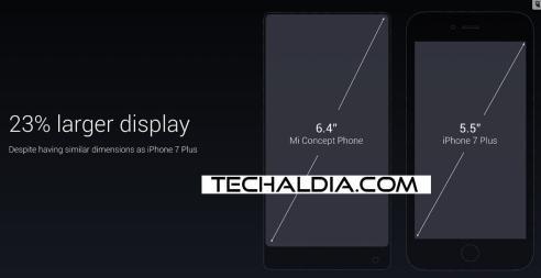 xiaomi mi mix pantalla techaldia.com