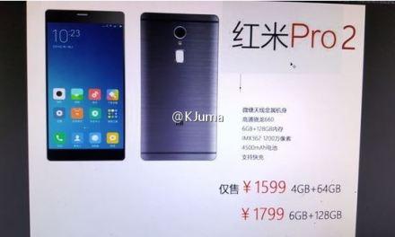 Xiaomi Redmi Pro 2 – Una cámara y 4500 mAh de batería