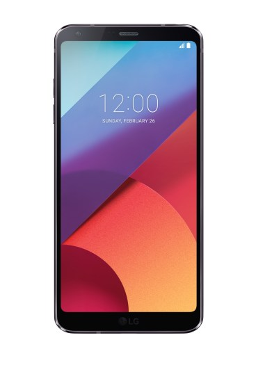 lg g6 parte frontal