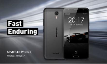 Ulefone Power 2 – 6050 mAh de batería y gran poténcia