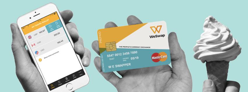 StartUp WeSwap – Cambio de divisas a bajo precio