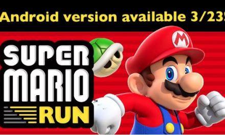 Super Mario Run llegará a Android el 23 de Marzo
