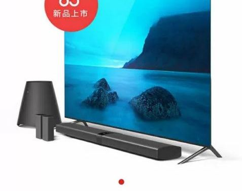 TV Xiaomi de 65 pulgadas filtrada