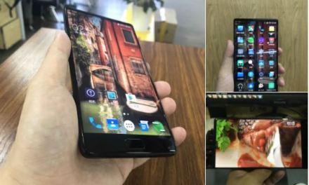 Elephone S8 – Primeras imágenes oficiales y sin margen superior