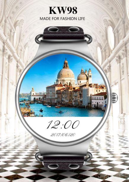 KingWear KW98 – Otro smartwatch con 8 gb de ROM