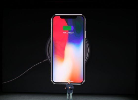 iphone X carga inalambrica