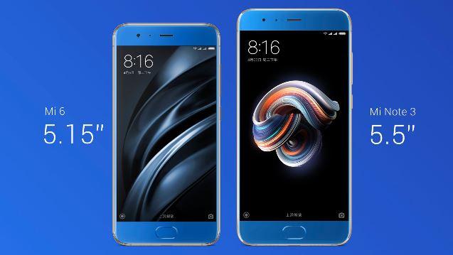 Xiaomi Mi Note 3 vendrá a ser un Mi 6 en grande