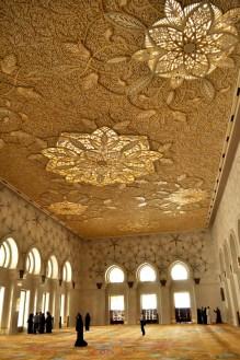 Sheikh Zayed Mosque Reflection