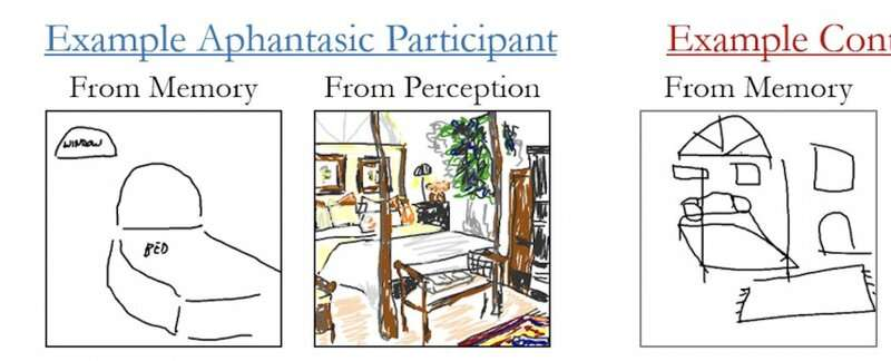 Can't draw a mental picture? Aphantasia causes blind spots in the mind's eye