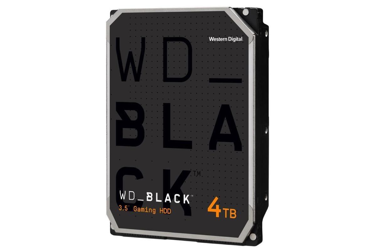 WD Black 4TB hard drives