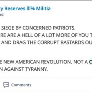 screenshot of a social media post