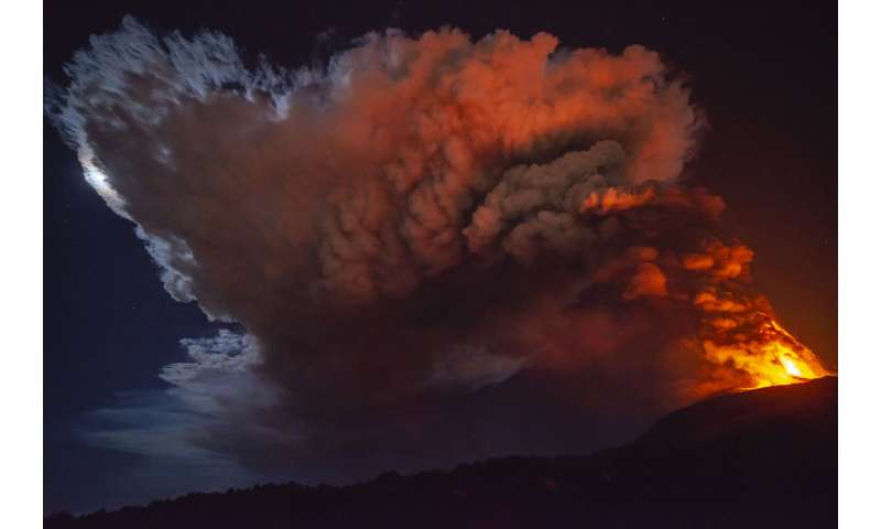 Mt Etna's latest eruptions awe even those who study volcanos