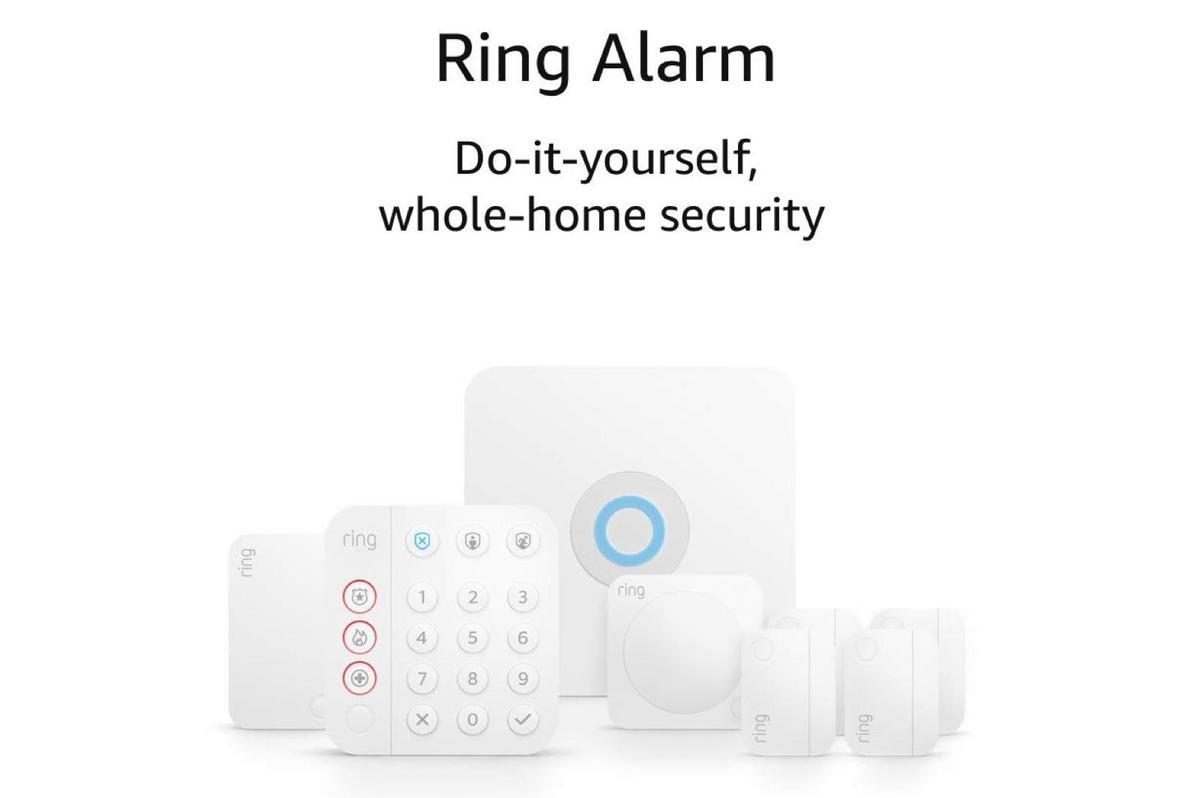 Ring Alarm 8-piece kit (2nd Gen)