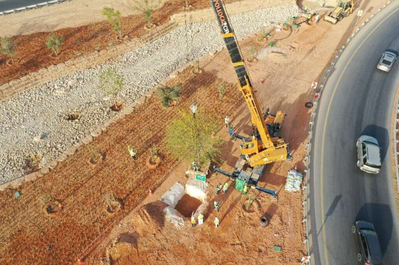 By 2030, Riyadh plans to have planted 7.5 million trees and created 3,000 parks