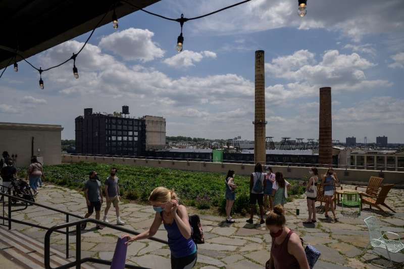 Across three New York rooftops, totalling more than 22,000 square metres (more than 236,000 square feet),  Brooklyn Grange farms