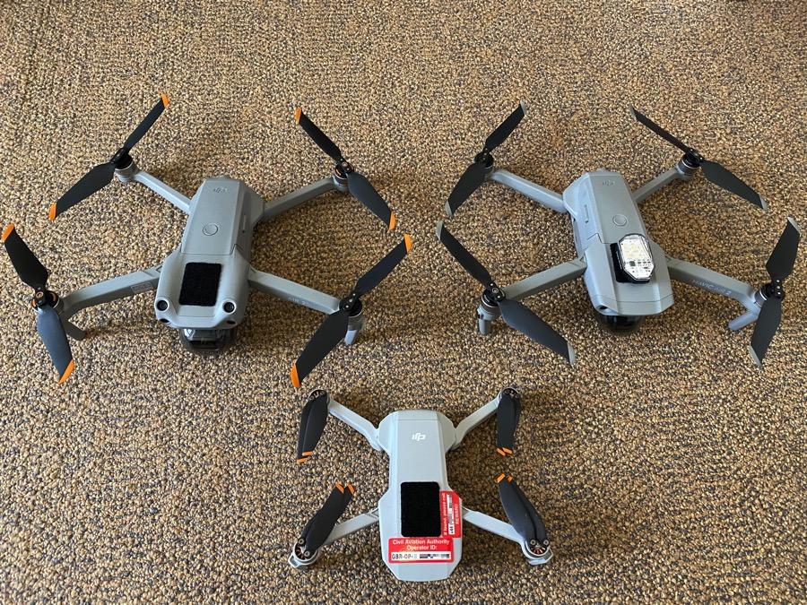 The drone fleet