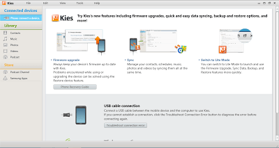 What is Samsung Kies mobile PC suite - Tech And We