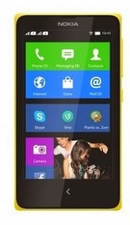 Nokia X Dual sim Android phone