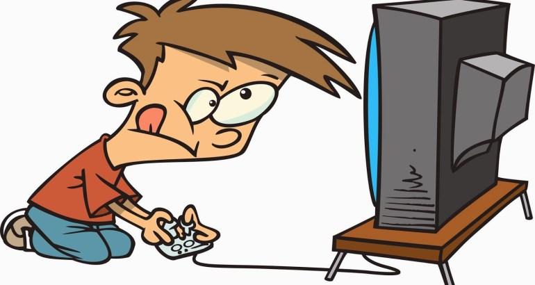 video gaming kids