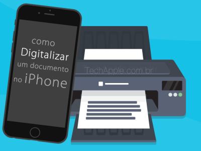 Como digitalizar /escanear documentos com seu iPhone, iPad ou iPod touch