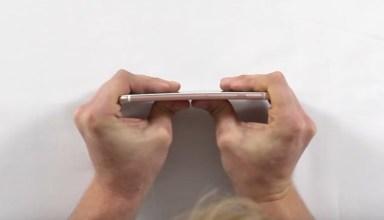 iPhone 6s se mostra muito mais resistente em teste e não entorta facilmente