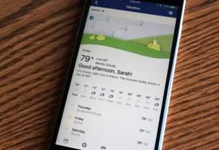 Facebook quer te manter informado sobre a previsão do tempo da semana | TechApple.com.br