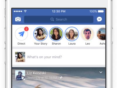 Facebook Stories   TechApple.com.br