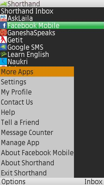 nokia 5233 facebook messenger software