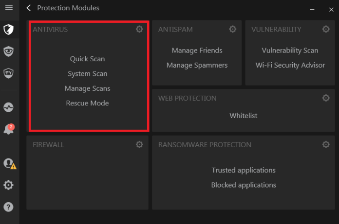 options to check