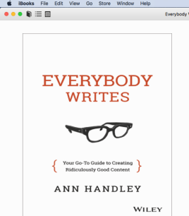 iBooks is perhaps the best ePub reader