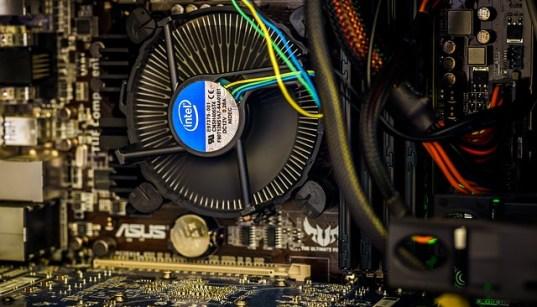 CPU Temperature Cooling Fan