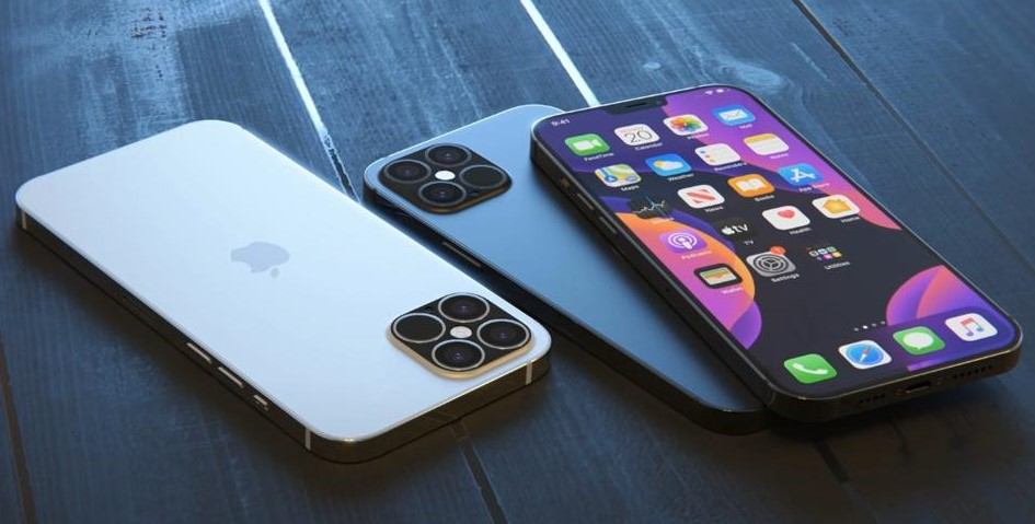 iPhone13 rumoured quad camera set up is shown