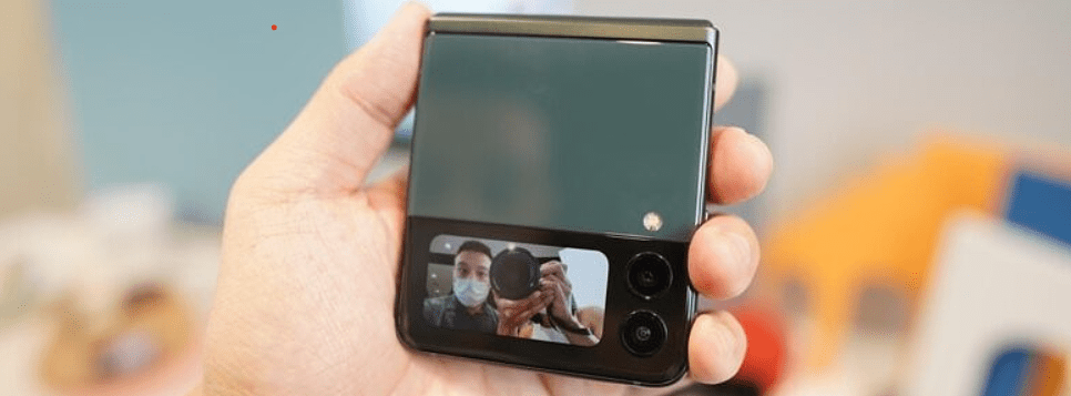Galaxy Z Flip 3 cover display can be used for primary camera preview