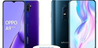 Oppo A9 2020 vs Vivo V17 Pro