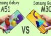 Samsung Galaxy A51 vs Galaxy M30s