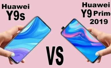 Huawei Y9s vs Huawei Y9 Prime