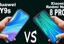 Huawei Y9s vs Redmi Note 8 Pro