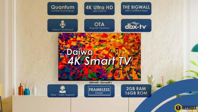 Daiwa 4K TV Banner