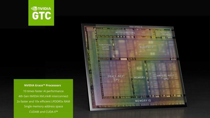 NVIDIA Grace Processors - CPU for Data Center
