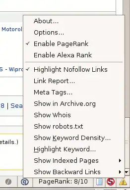 search status firefox plugin