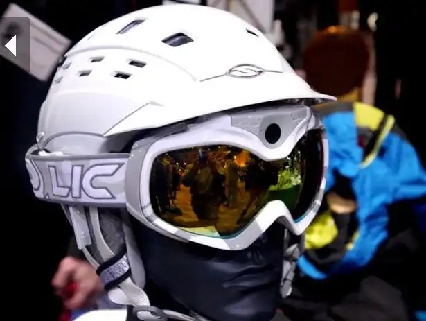 CES 2012 HEAD MOUNTED CAMERAS