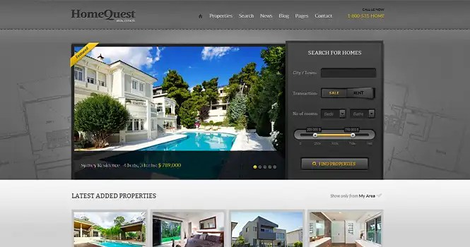 HomeQuest Theme from ThemeFuse