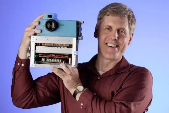 Who developed the first colored original digital camera prototype