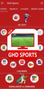 GHD Sports APK (MOD, AdFree) Watch Live TV 2021 1