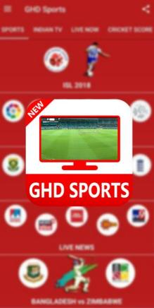 GHD Sports APK Watch Live TV 2021