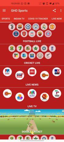 GHD Sports APK download adfree