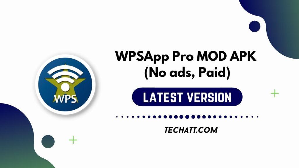 WPSApp Pro MOD APK (No ads, Paid) Free Download