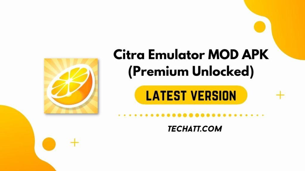 Citra Emulator MOD APK (Premium Unlocked) Free Download